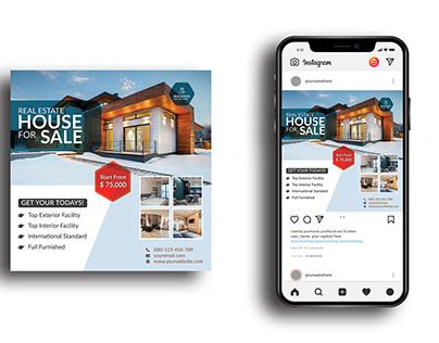 real estate/ instagram post/ social media post