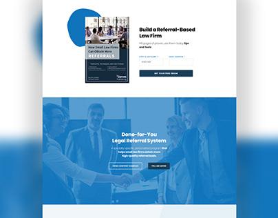 Web Design // Law Firm Referral System Website