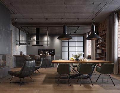 New loft design project