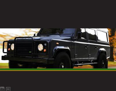 Alias Modeling Land Rover 110