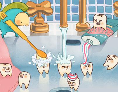 Teeth's LIFE