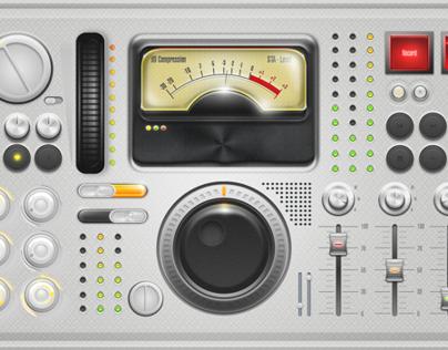 Audio Recording Compressor - UI