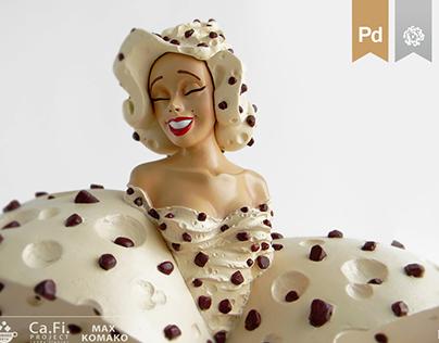 Zephilyne Chocoe plastic figure