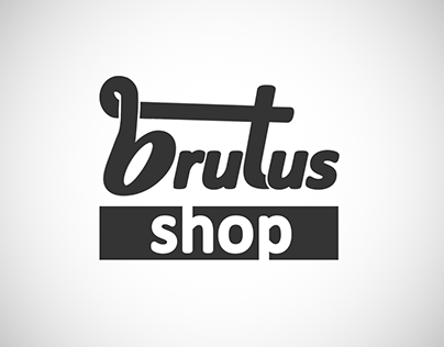 Brutus Shop - Logomarca (Web design)
