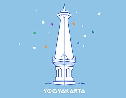 Icon Design - Tugu Yogyakarta