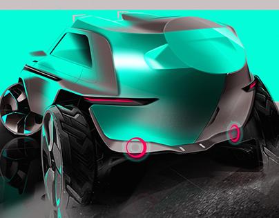 SUZUKI BIKE LOADER Concept