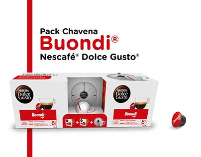 Pack Chavena Nescafé® Dolce Gusto®