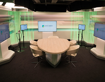 Corporate set design for ABN AMRO
