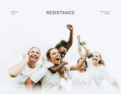 RESISTANCE (Mobile App)