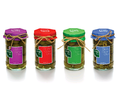 Green Field Olives   Packaging Design