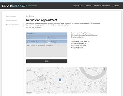 Doctor's Responsive Web Design