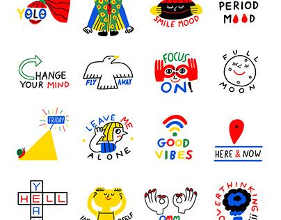 Snapchat Stickers, USA