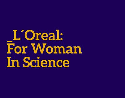 L'Oréal-UNESCO Para Mulheres na Ciência