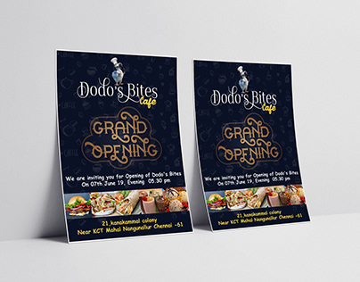 dodo's Grand Opening Invitation