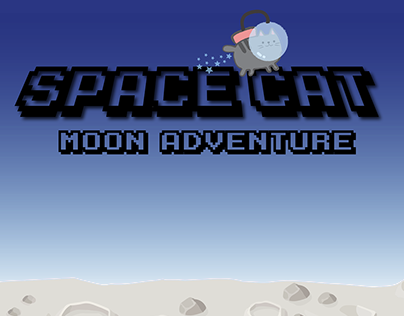 """Space cat"" mobile game"