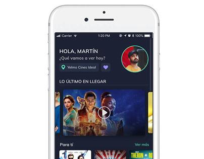 Film Planet mobile app UX/UI