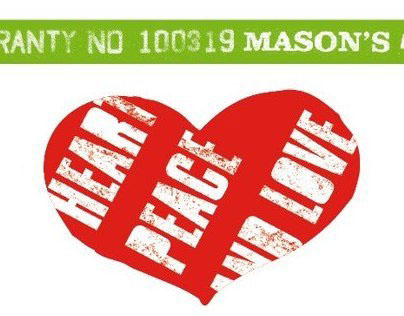 Some graphics + label for Mason's