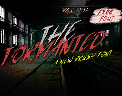 Free Tormanted Brush Font