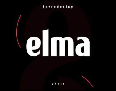 New Font elma