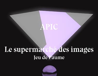 APIC - Interprétation libre pour le Jeu de Paume