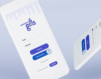 Suspended Gifts App UI/UX