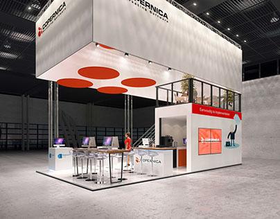 Panorama exhibition stand concept Copernica