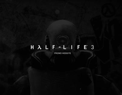 Half-life 3 promo website