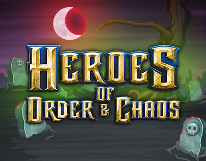 Heroes of Order & Chaos' Promo Illustrations