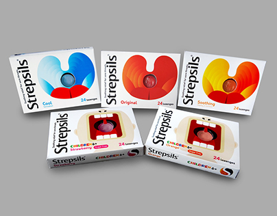 Strepsils - Packaging Concept Redesign