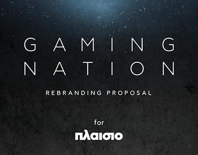 Gaming Nation | Rebranding Proposal for Plaisio
