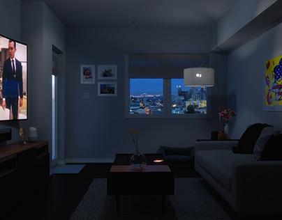 San Francisco High-Rise Apartment