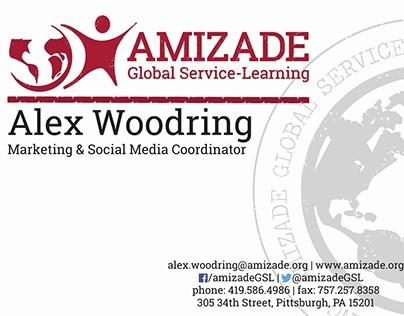 AmizadeGSL Business Cards
