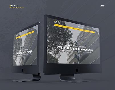 Carp srl - Website Restyling