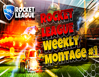 Rocket League Youtube Gaming Thumbnail Design