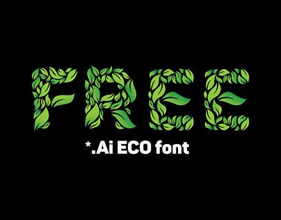 Free Eco Font