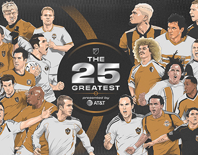 THE 25 GREATEST PRESENTED BY AT&T