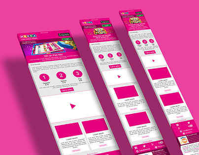 Mecca Bingo Responsive Newsletters Design