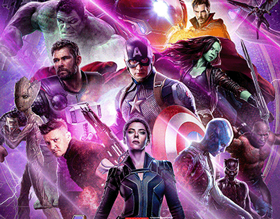 "Fan Art ""Avengers Endgame"""