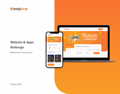 Pegipegi - UI Redesign for Website and Mobile Apps