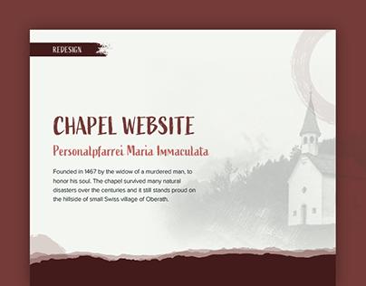 Personalpfarrei Maria Immaculata • Redesign Website