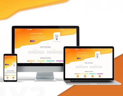 E-Commerce Store | Mobile First Design