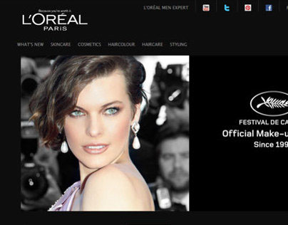 L'Oréal Paris Canada - Account Lead Developer 2009-2011