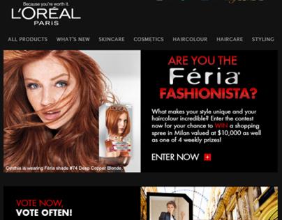 Féria Fashionista Contest / L'Oréal Paris