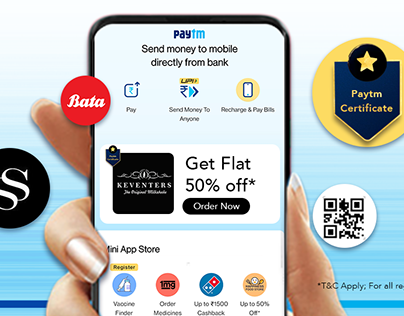Paytm: Banners & Emailer