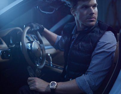 Luxury watch editorial