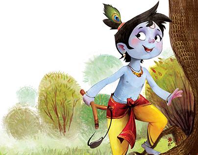 Krishna in Rhyme