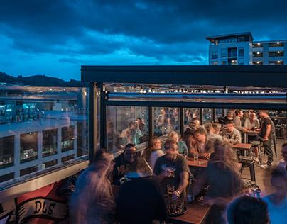 DLS Bar, Wellington, Tennent Brown Architects
