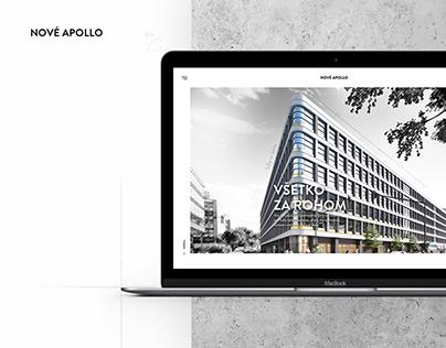 Nové Apollo - Webdesign, UX, UI