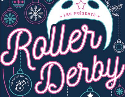 Affiche - Roller Derby - LRG Lomme Roller Girls