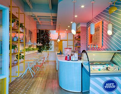 SOFT TOUCH MALL ZONA 2 / Diseño Restaurante